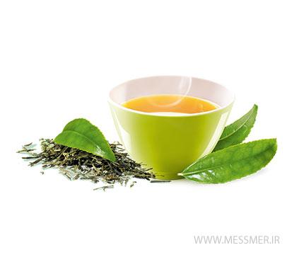چای سبز ساده مسمر