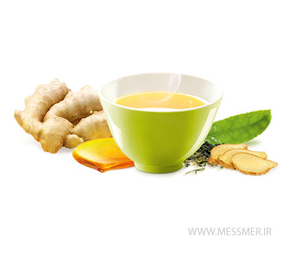 چای سبز زنجبیل و عسل مسمر
