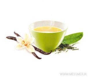 چای سبز وانیلی مسمر