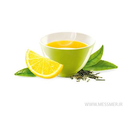 چای سبز لیمویی مسمر