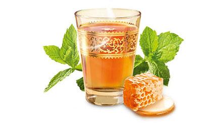 دمنوش نعناع عسل مراکشی مسمر